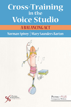 Book cover for Cross-Training in the Voice Studio (2018)